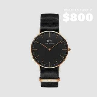 DW watch手錶