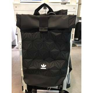 READY STOCK + FREE GIFT‼️Adidas 3D Backpack | BLACK