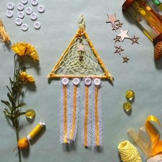 FREE POSTAGE & Goodies Item Dreamcatcher Boho Trilight & Star