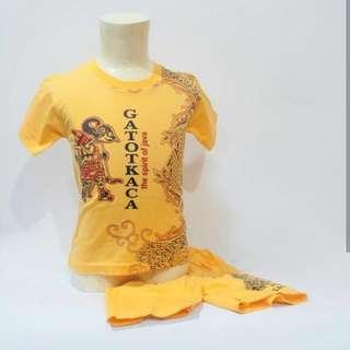 Stelan gatotkaca kuning