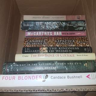 Hardbound and Trade Paperback books