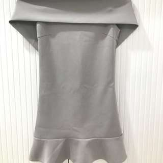 Apartment 8 gray dress
