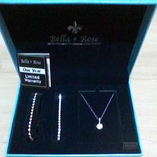 Bella & Rose Chain, Pendant & Bracelets.