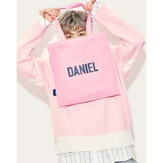 Wanna One Daniel LAP - Eco Bag and Sweater