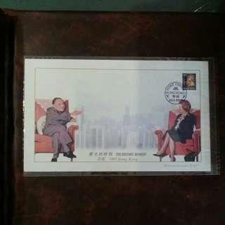 1997年鄧小平與戴卓爾歷史的時刻