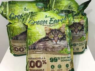 Clearance Promo! Bamboo Cat Litter