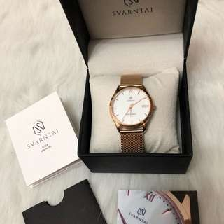 Svarntai Seymore Rose Gold Watch $1000 cheaper