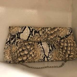 Multi Croc Evening bag