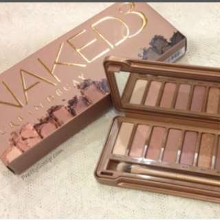 Urban Decay naked 3 palette (postage include)