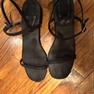 Marnivost Black Sandals