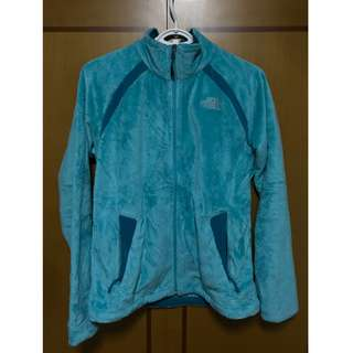 BN The North Face Turquoise Suede Jacket