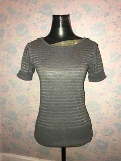 Jasper Conran gray top