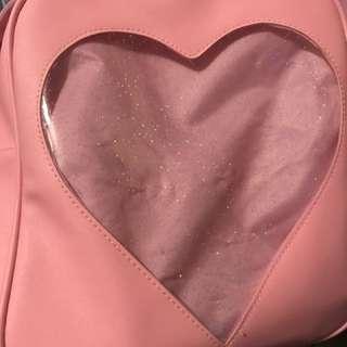 粉紅色透明袋