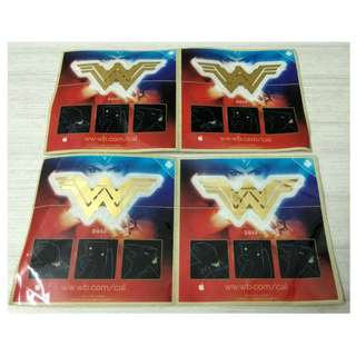 WONDER WOMAN NFC STICKERS X 4