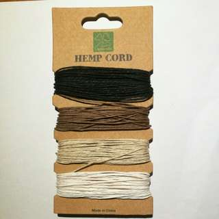Hemp cord / strings
