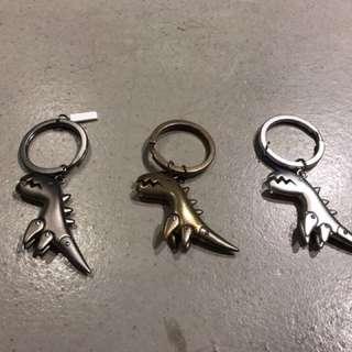 Sport b 恐龍鎖匙扣(3色)