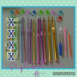 10pcs Crochet Hook