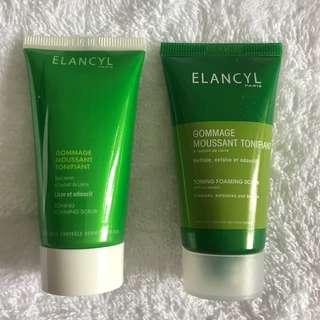 Elancyl Toning Foaming Scrub / Shower Gel Scrub