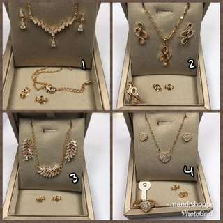 FEB 18 STAINESS STEEL JEWELRY SET (WC)