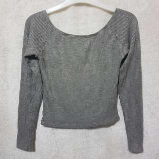 Pull&bear knit ribbed top