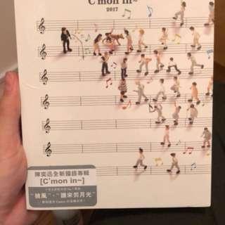 全新 陳奕迅 Eason chan C'mon in 2017專輯