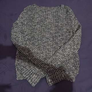 pull n bear knitted top
