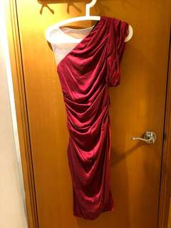 Vera Wang 紅色小禮服