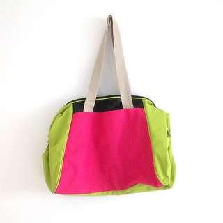 PU Vinyl Neon Weekend Tote Bag