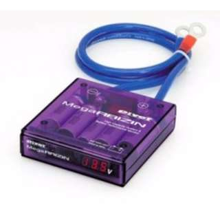 Mega raizen purple color with digital display 5pcs K logo   condensor + 3pcs wire    model 27014