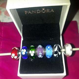 Original Pandora murano glass bead (each rm 80)