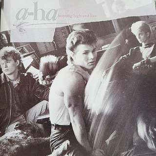 80s pop music disco a-ha Take on me album