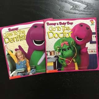 Barney's Go To books