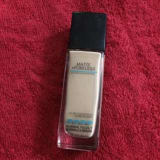 Maybelline Fit Me Foundation Matte+ Poreless