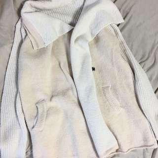 外套 翻領 針織外套