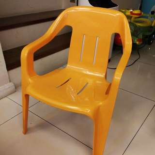 Plastic Chair - Yellow