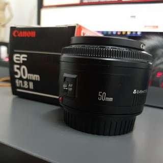 (Urgent) Canon 50mm F1.8 ii