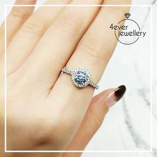 FR229 碎石圍鑽戒指