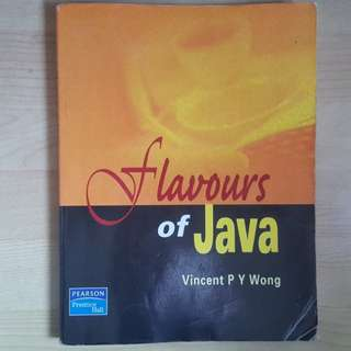 Flavours of Java