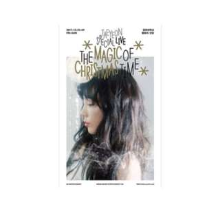 TAEYEON Special Live The Magic Of Christmas Time (DVD)