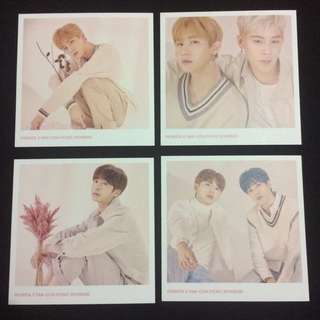 Monsta X Fan-Con Picnic Monbebe Polaroid Photo Set