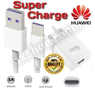 Huawei SuperCharge Charger adapter.
