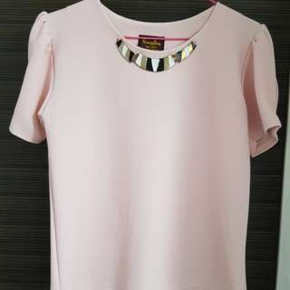 Pink top / blouse