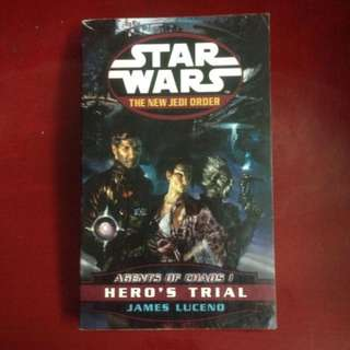 Starwars The New Jedi Order (Agent Of Chaos 1 - Hero's Trial) - James Luceno