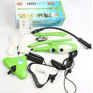 蒸汽消毒殺菌除蟎除臭蒸氣清潔機蒸汽地拖 handheld floor carpet steamer H2O 5in1 steam mop