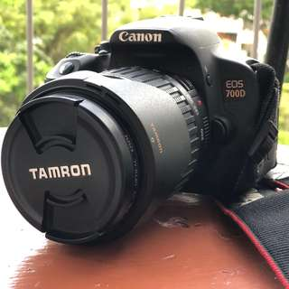 Canon 700d with tamron