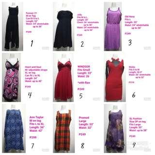 Pre-loved dresses! 💞