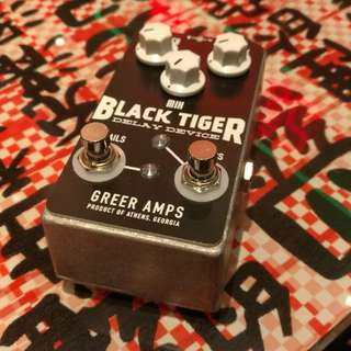 Greer Amps Black Tiger Analog Delay