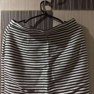 Forever 21 Stripes Skirt