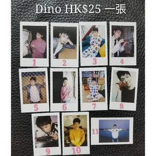 2016 LIKE SEVENTEEN Encore Dino 小卡