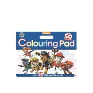 Paw Patrol coloring pad